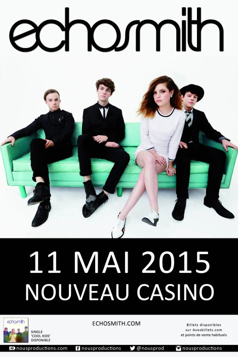 ECHOSMITH_PARIS_MAI15