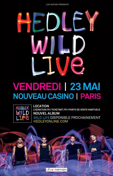 HEDLEY - Nouveau Casino, vendredi 23 mai 2014
