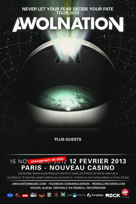 flyer awolnation 2013